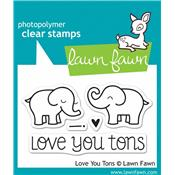 "Tampon ""Love you tons"