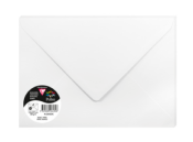 5 enveloppes blanches C5<br>162x229mm