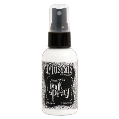 Dylusion Ink Spray<br>White Linen