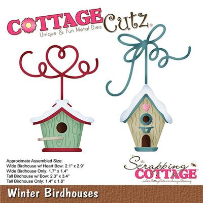 "dies ""winter birdhouses"