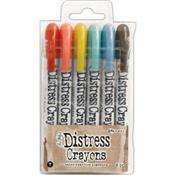 6 Crayons Distress